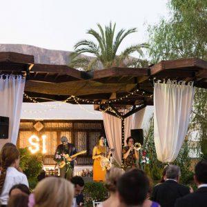 Música cóctel boda